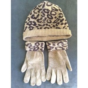 OSFM Women's Set Gloves and Hat One Size Winter